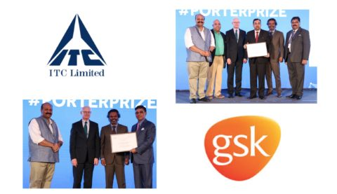ITC and GSK win the Porter Prize for Creating Shared Value